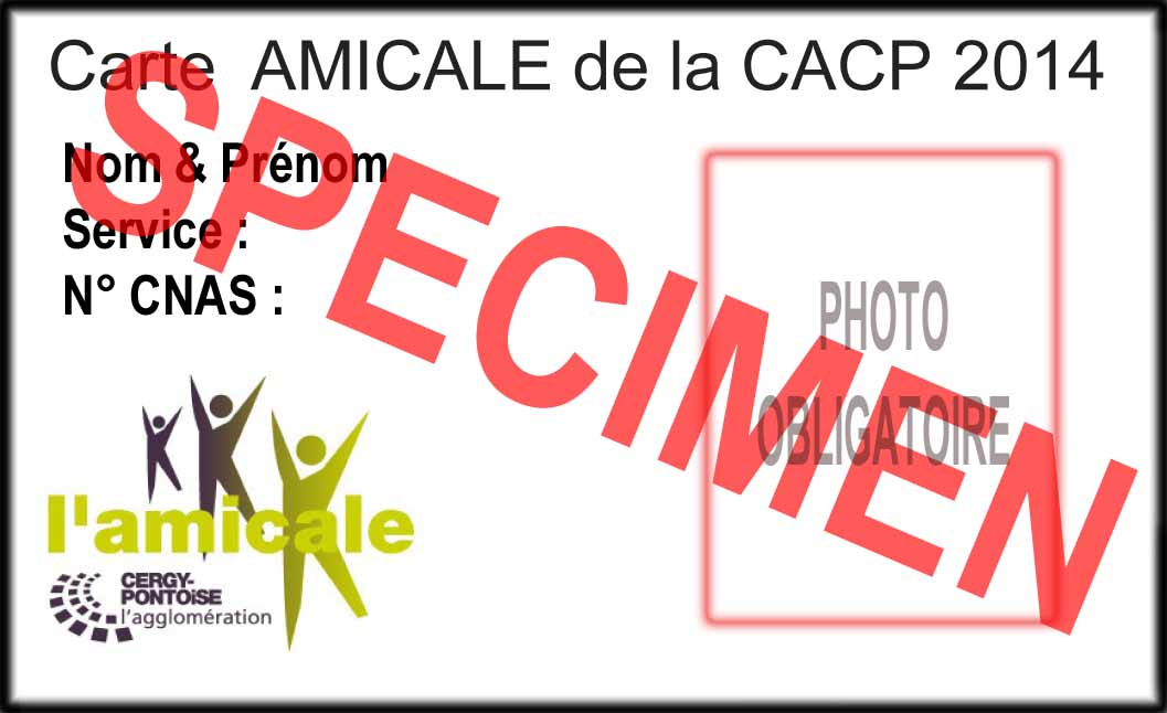 Carte AMICALE-1