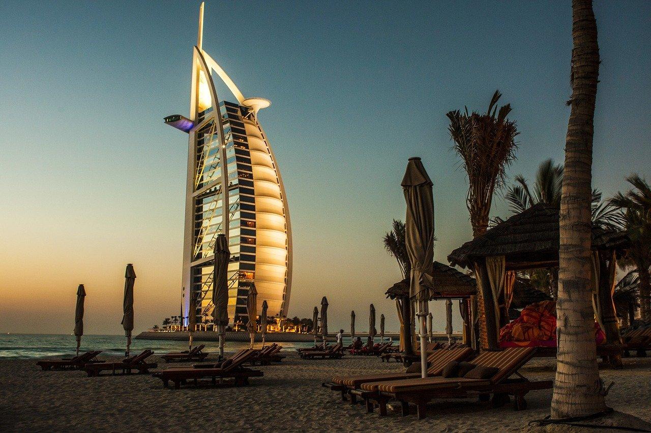 Plage à Dubaï